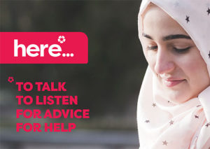 If you have been affected by hate crime, we are here - to talk, to listen, for advice, for help